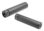 Surefire SOCOM762-MINI END MOUNT SOUND SUPPRESSOR, HIGH TEMPERATURE ALLOY CONSTRUCTION, FOR USE WITH 7.62 CALIBER AMMUNITION, BLACK FINISH