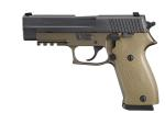 Full Size, .45 ACP, Combat - Flat Dark Earth Anodize Frame, M1913 Picatinny Rail