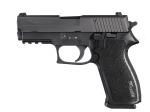 Sig Sauer W220R3-45-BSS-SAO P220 , .45 ACP, Pistol, Carry, 3.9in bbl, Nitron, BLK, SAO, SIGLITE, Blk Polymer Grip, (3) 8rd Steel Mag, Accessory Rail