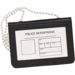 ID Holder with chain - Horizontal