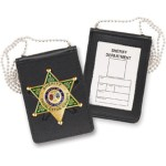 Recessed Magnetic Badge and ID Holder