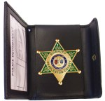 Snap - Non-Recessed Badge Case -Dress