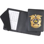 Side Open Removable Flip-out Badge Case - Dress