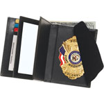 Double ID Hidden Badge Wallet - Dress