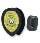 Recessed Badge Holder Clip-on