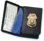 Side Open  Flip-out Badge Case - Duty