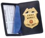 Side Open Badge Case - Duty