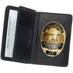 Side Open Double ID Badge Case - Duty