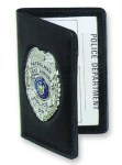 Side Open Double ID Outside Badge Mount - Duty