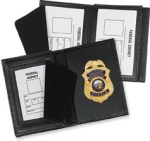 Side Open Badge Case with Smart Card Window - Dress