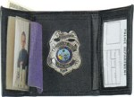 Tri-fold Badge Wallet - Dress