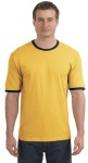 Hanes® - Beefy® Ringer T-Shirt.  5909
