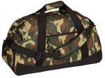 Port & Company® - Military Camo Basic Large Duffel.  BG98C