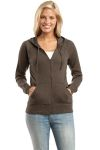 District Threads® - Junior Ladies Full-Zip Hoodie.DT227