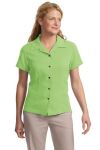 Port Authority Signature® - Ladies Silk Blend Camp Shirt.  L533