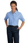 CornerStone™ - Ladies Short Sleeve Square Hem Industrial Work Shirt.SP23