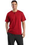 Sport-Tek® - Short Sleeve Henley.T210