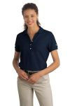 SanMar Nike 297995 Nike Golf - Ladies Pique Knit Polo.