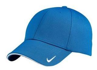 SanMar Nike 333115, Nike Dri-FIT Mesh Swoosh Flex Sandwich Cap.