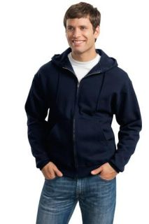 SanMar Jerzees 4999M, Jerzees® Super Sweats® NuBlend® - Full-Zip Hooded Sweatshirt.