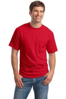 SanMar Hanes 5190, Hanes® Beefy-T® - 100% Cotton T-Shirt with Pocket.