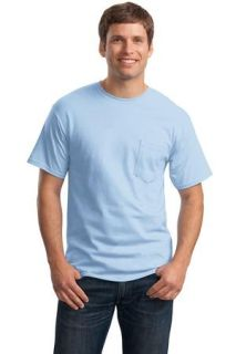 SanMar Hanes 5590, Hanes® - Tagless® 100%  Cotton T-Shirt with Pocket.