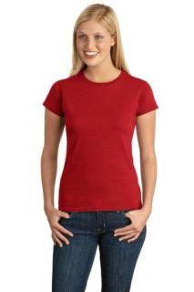SanMar Gildan 64000L, Gildan Softstyle® Junior Fit T-Shirt.