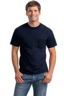 SanMar Gildan 8300, Gildan® - DryBlend® 50 Cotton/50 Poly Pocket T-Shirt.