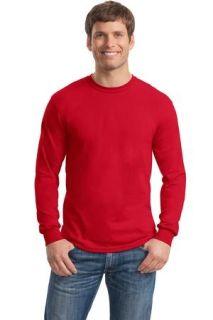 SanMar Gildan 8400, Gildan® - DryBlend® 50 Cotton/50 Poly Long Sleeve T-Shirt.