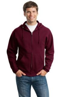 SanMar Jerzees 993M, Jerzees® - NuBlend® Full-Zip Hooded Sweatshirt.