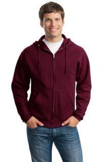SanMar Jerzees 993M, Jerzees® - NuBlend® Full-Zip Hooded Sweatshirt.
