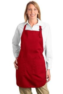 SanMar Port Authority A500, Port Authority® Full-Length Apron with Pockets.