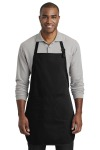 SanMar Port Authority A600, Port Authority ® Full-Length Two-Pocket Bib Apron.