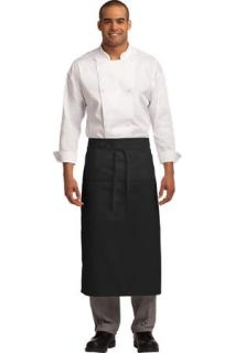 SanMar Port Authority A701, Port Authority® Easy Care Full Bistro Apron with Stain Release.