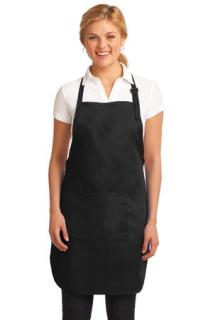 SanMar Port Authority A703, Port Authority® Easy Care Full-Length Apron with Stain Release.
