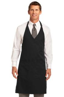 SanMar Port Authority A704, Port Authority® Easy Care Tuxedo Apron with Stain Release.