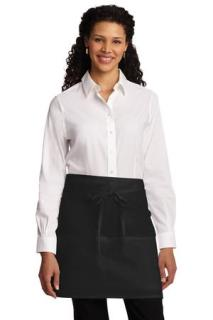 SanMar Port Authority A706, Port Authority® Easy Care Half Bistro Apron with Stain Release.