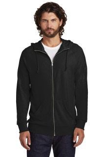 SanMar Alternative Apparel AA7601, Alternative Vintage Heavy Knit Weekender Zip Hoodie.