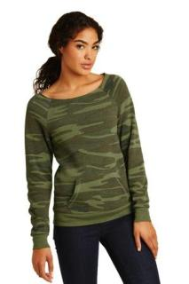 SanMar Alternative Apparel AA9582, Alternative Womens Maniac Eco -Fleece Sweatshirt.