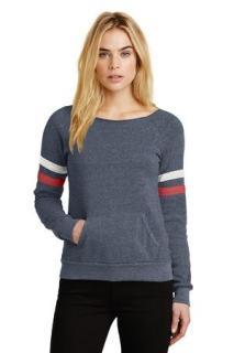 SanMar Alternative Apparel AA9583, Alternative Womens Maniac Sport Eco-Fleece Sweatshirt.