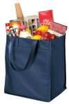 SanMar Port Authority B160, Port Authority® - Extra-Wide Polypropylene Grocery Tote.