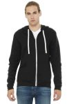 SanMar Bella + Canvas BC3909, BELLA+CANVAS ® Unisex Triblend Sponge Fleece Full-Zip Hoodie.