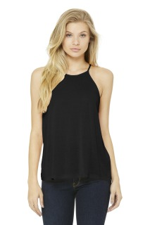 SanMar Bella + Canvas BC8809, BELLA+CANVAS ® Womens Flowy High-Neck Tank.