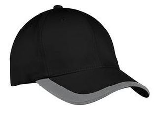 SanMar Port Authority C867, Port Authority® Contrast Stripe Sandwich Bill Cap.