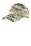 SanMar Port Authority C925, Port Authority® Digital Ripstop Camouflage Cap.