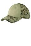 SanMar Port Authority C926, Port Authority® Colorblock Digital Ripstop Camouflage Cap.