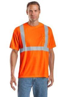 SanMar CornerStone CS401, CornerStone® - ANSI 107 Class 2 Safety T-Shirt.