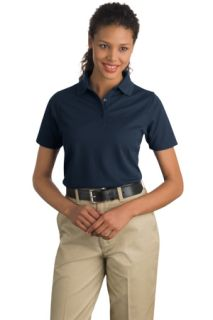 SanMar CornerStone CS403, CornerStone® - Ladies Industrial Pique Polo.