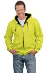 SanMar CornerStone CS620S, CLOSEOUT CornerStone® - Safety Heavyweight Full-Zip Hooded Sweatshirt with Thermal Lining.