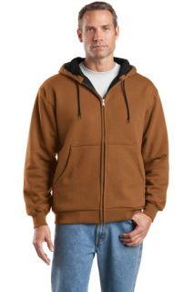 SanMar CornerStone CS620, CornerStone® - Heavyweight Full-Zip Hooded Sweatshirt with Thermal Lining.